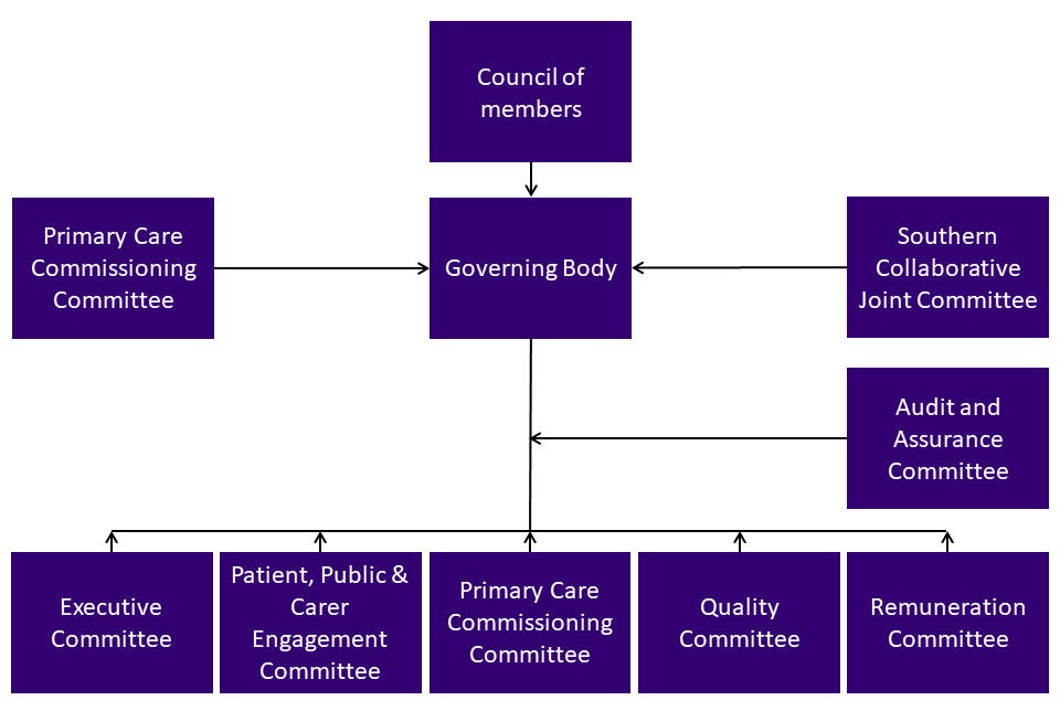 County Durham CCG Governance Structure